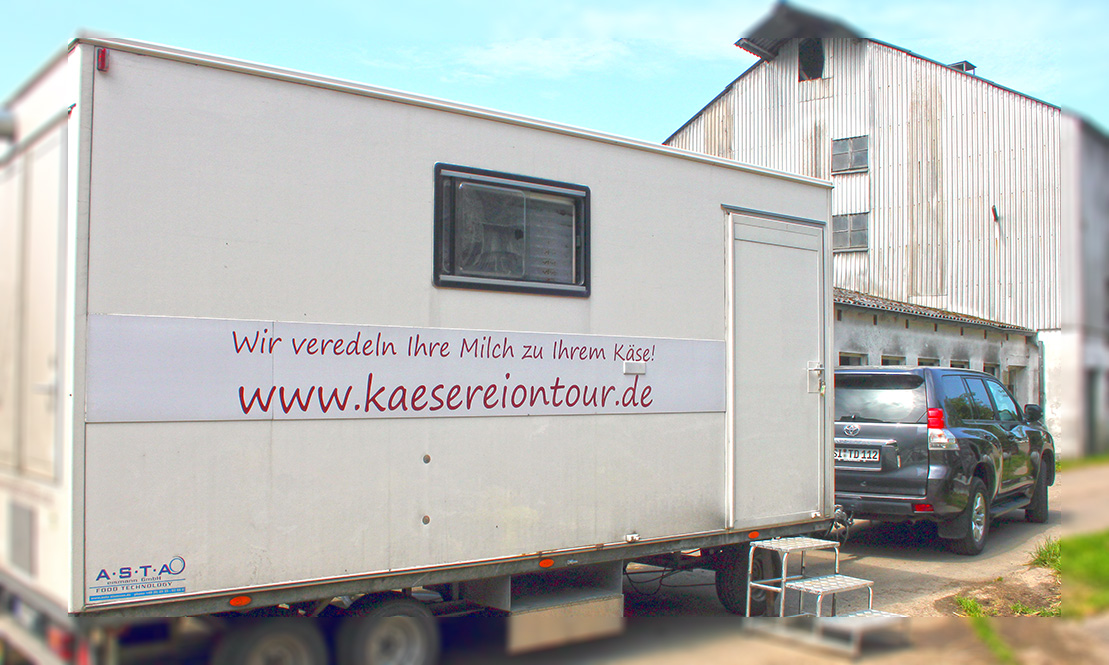 Käserei on Tour